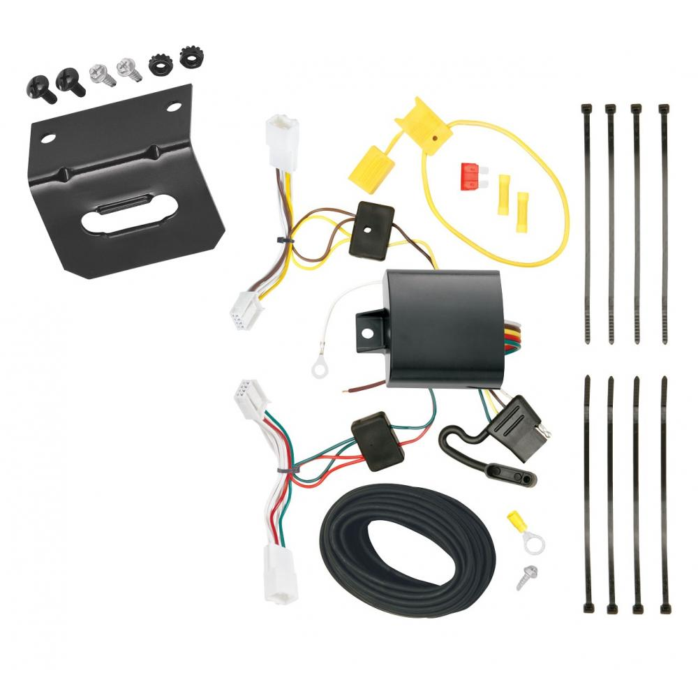 Trailer Wiring And Bracket For 2014 Scion Tc All Styles 4