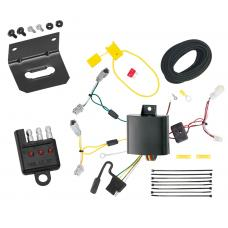 Trailer Wiring and Bracket and Light Tester For 14-17 Acura RLX All Styles 4-Flat Harness Plug Play