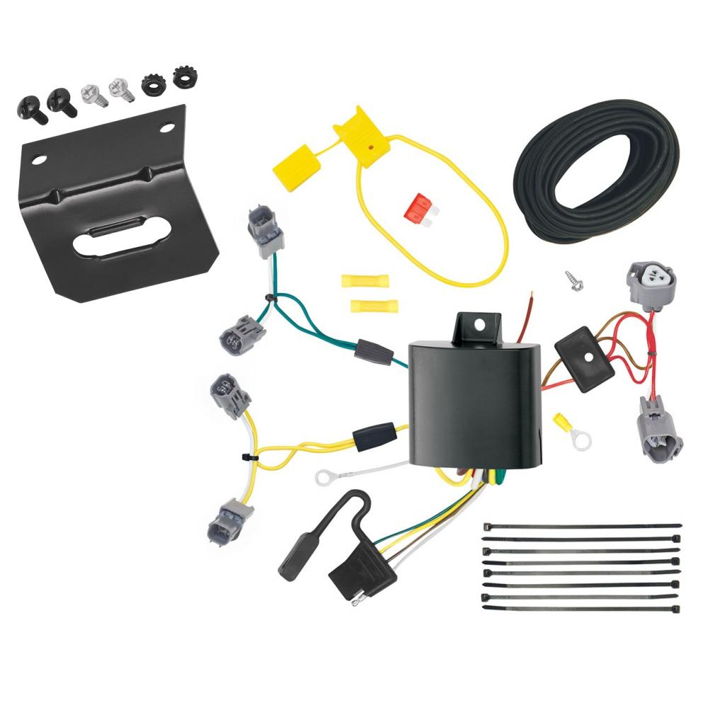 Trailer Wiring And Bracket For 13-20 Acura ILX Except