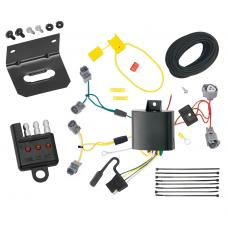 Trailer Wiring and Bracket and Light Tester For 13-19 Acura ILX All Styles 4-Flat Harness Plug Play