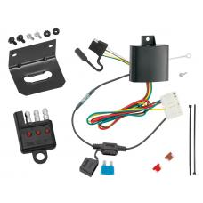 Trailer Wiring and Bracket and Light Tester For 14-19 Acura MDX All Styles 4-Flat Harness Plug Play