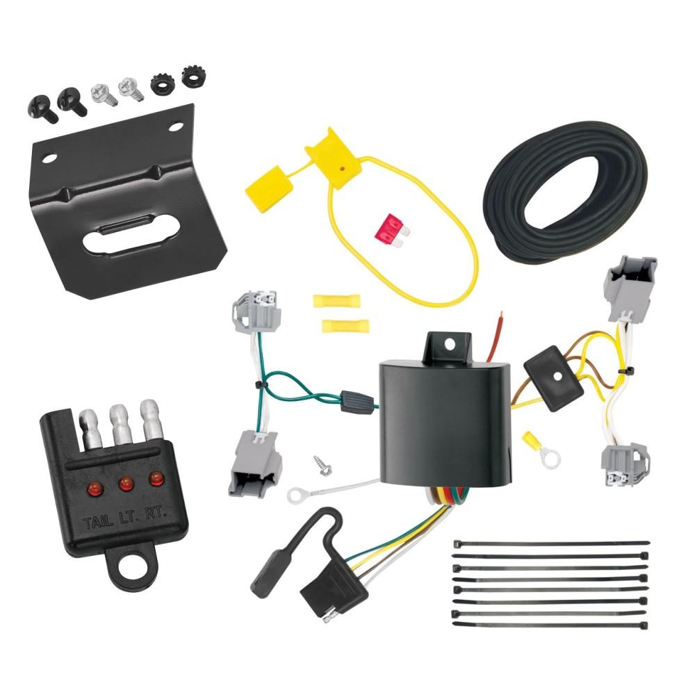 chrysler 200 trailer wiring 2012 chrysler 200 headlight wiring harness trailer wiring and bracket and light tester for 15-17 ...