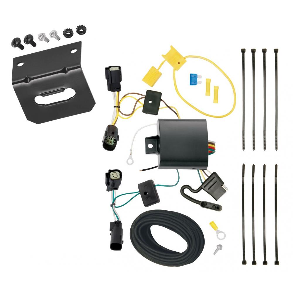 Trailer Wiring and Bracket For 40 40 Ford Transit 400 40 ...