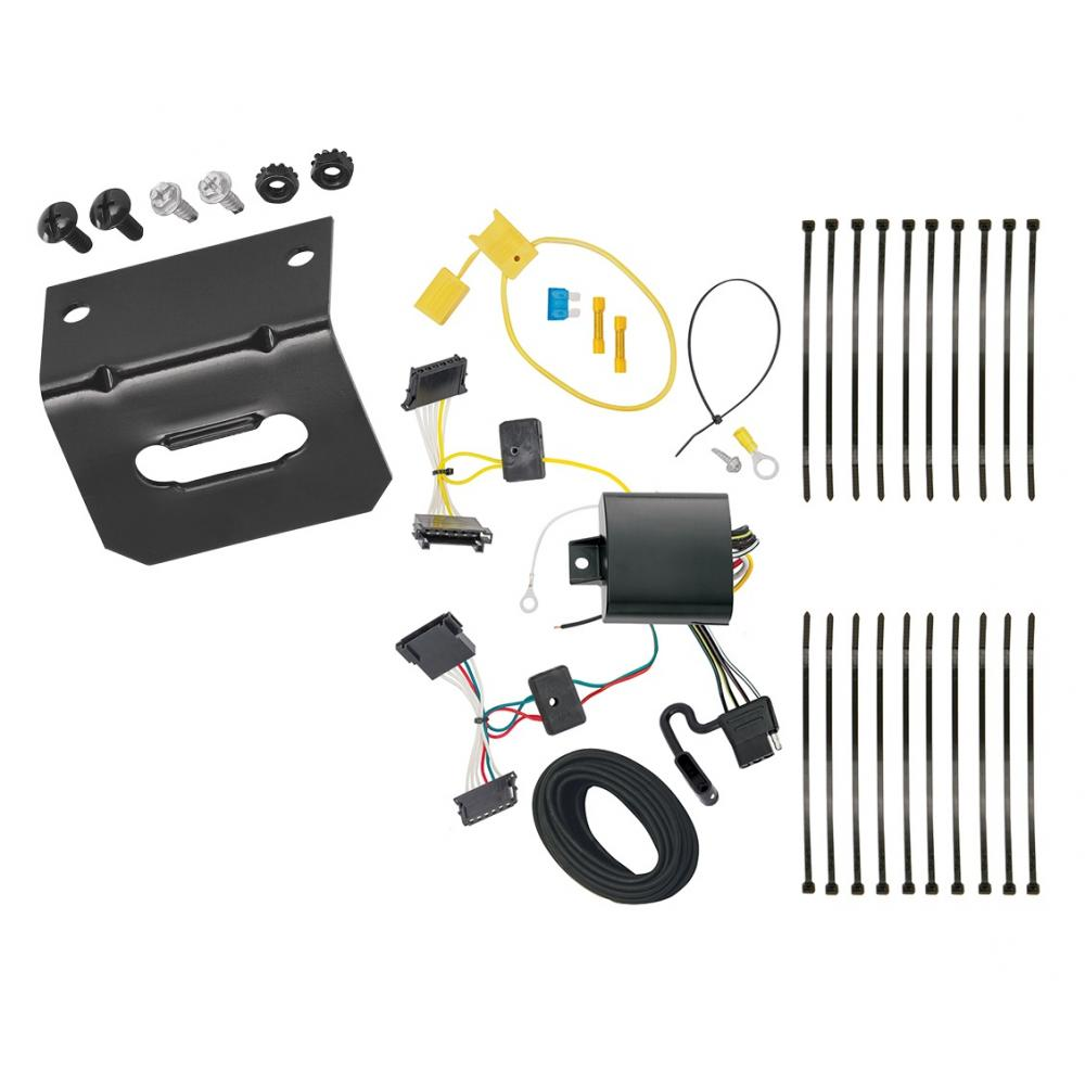 trailer wiring and bracket for 14 18 mercedes benz. Black Bedroom Furniture Sets. Home Design Ideas