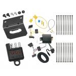 Trailer Wiring and Bracket and Light Tester For 14-18 Mercedes-Benz Sprinter 2500 3500 All Styles 4-Flat Harness Plug Play