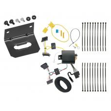 Trailer Wiring and Bracket For 14-18 Mercedes-Benz Sprinter 2500 3500 All Styles 4-Flat Harness Plug Play