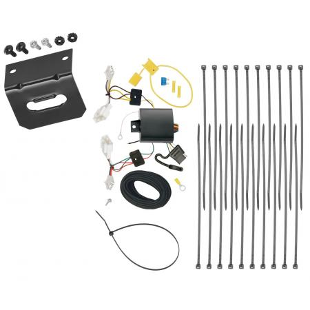 Trailer Wiring and Bracket For 15-17 Lexus NX200t 2015 NX300h All Styles 4-Flat Harness Plug Play