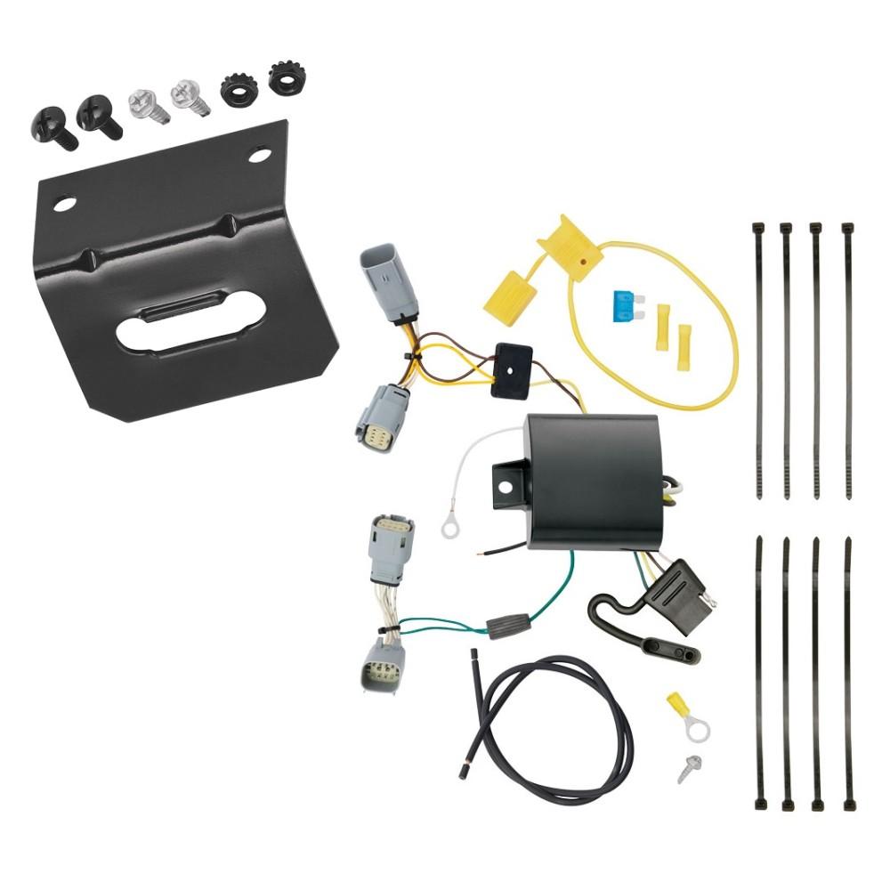trailer wiring and bracket for 15 19 chrysler 300 all. Black Bedroom Furniture Sets. Home Design Ideas