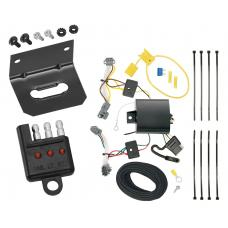 Trailer Wiring and Bracket and Light Tester For 17-20 Chevrolet Trax LS 13-16 Trax All Styles 4-Flat Harness Plug Play