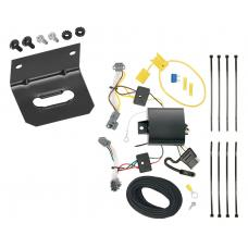Trailer Wiring and Bracket For 17-20 Chevrolet Trax LS 13-16 Trax All Styles 4-Flat Harness Plug Play