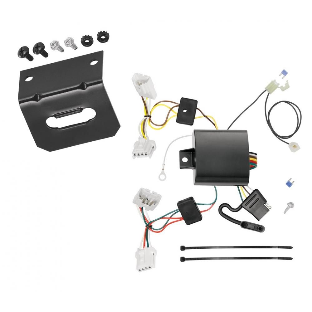 Trailer Wiring and cket For 15-19 Nissan Murano Except CrossCabriolet on