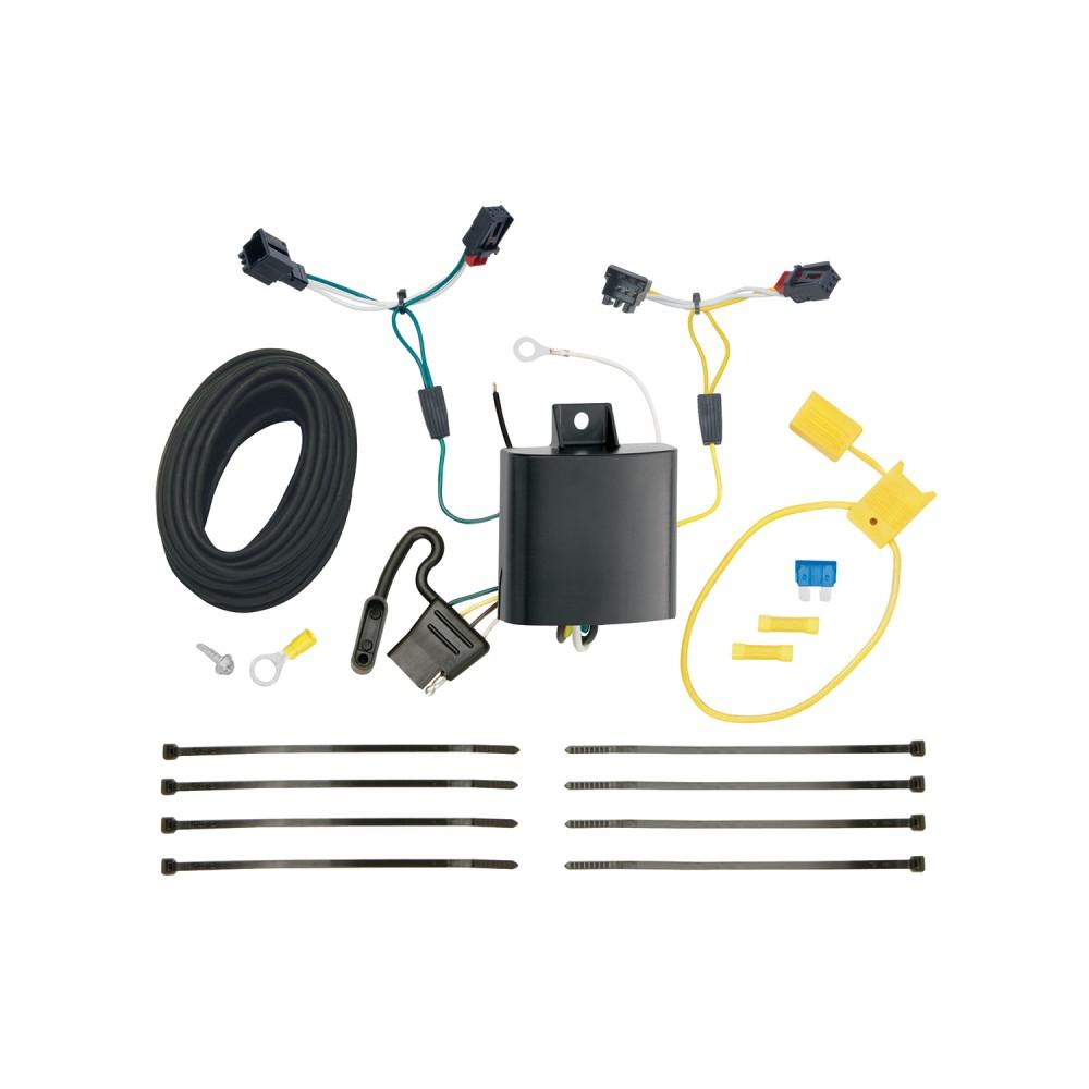11-17 Volkswagen Touareg 7 Way RV Trailer Wiring Plug ...