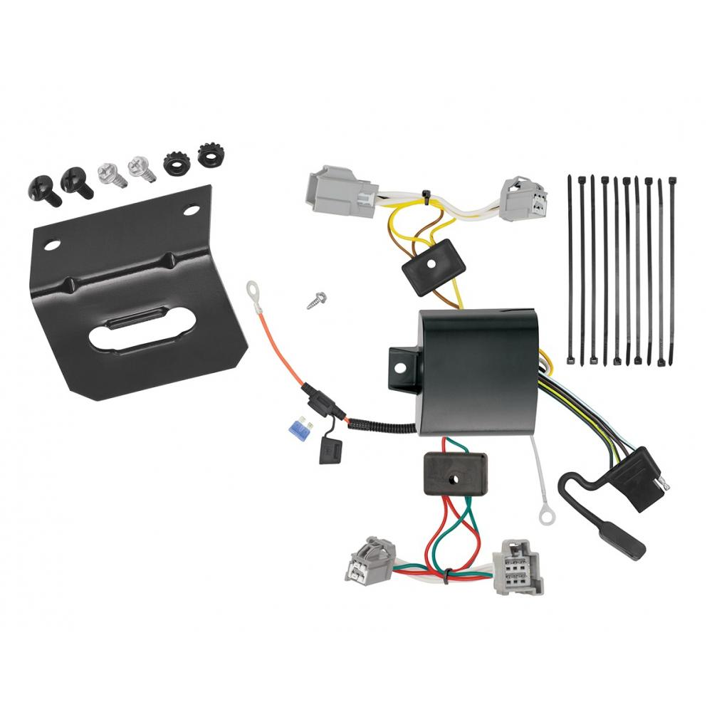 Trailer Wiring and Bracket For 16-19 XC90 17-18 Volvo S90 ... | Volvo Xc90 Trailer Wiring |  | TrailerJacks