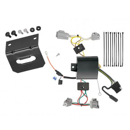 Trailer Wiring and Bracket For 16-19 XC90 17-18 Volvo S90 All Styles 4-Flat Harness Plug Play