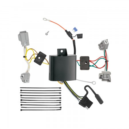 Trailer Wiring Harness Kit For 16-19 XC90 17-18 Volvo S90 ...   Volvo Xc90 Trailer Wiring      Trailer Jack