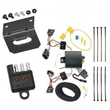 Trailer Wiring and Bracket and Light Tester For 12-19 VW Volkswagen Beetle All Styles 4-Flat Harness Plug Play