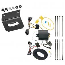 Trailer Wiring and Bracket For 12-19 VW Volkswagen Beetle All Styles 4-Flat Harness Plug Play
