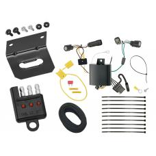 Trailer Wiring and Bracket and Light Tester For 16-18 Chevrolet Camaro All Styles 4-Flat Harness Plug Play
