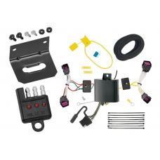 Trailer Wiring and Bracket and Light Tester For 16-20 Chevrolet Spark All Styles 4-Flat Harness Plug Play