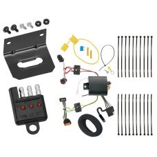 Trailer Wiring and Bracket and Light Tester For 17-19 KIA Sportage All Styles 4-Flat Harness Plug Play
