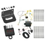 Trailer Wiring and Bracket and Light Tester For 16-17 Toyota Prius All Styles 4-Flat Harness Plug Play