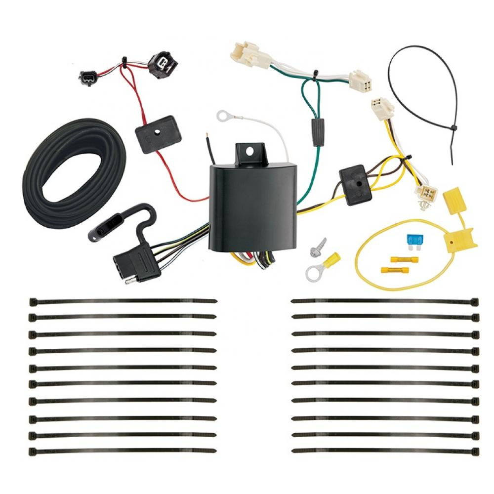 trailer wiring harness kit for 16-17 toyota prius all styles  trailerjacks.com