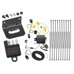Trailer Wiring and Bracket and Light Tester For 17-20 Chrysler Pacifica Limited Touring L Plus 4-Flat Harness Plug Play