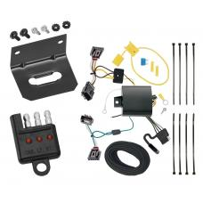 Trailer Wiring and Bracket and Light Tester For 13-17 VW Volkswagen CC All Styles 4-Flat Harness Plug Play