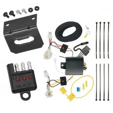 Trailer Wiring and Bracket and Light Tester For 16-19 Mazda CX-3 All Styles 4-Flat Harness Plug Play