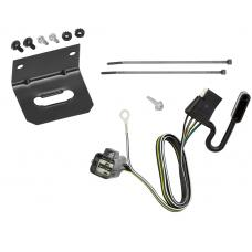 Trailer Wiring and Bracket For 17-20 GMC Acadia Cadillac XT5 19-20 Chevy Blazer All Styles 4-Flat Harness Plug Play