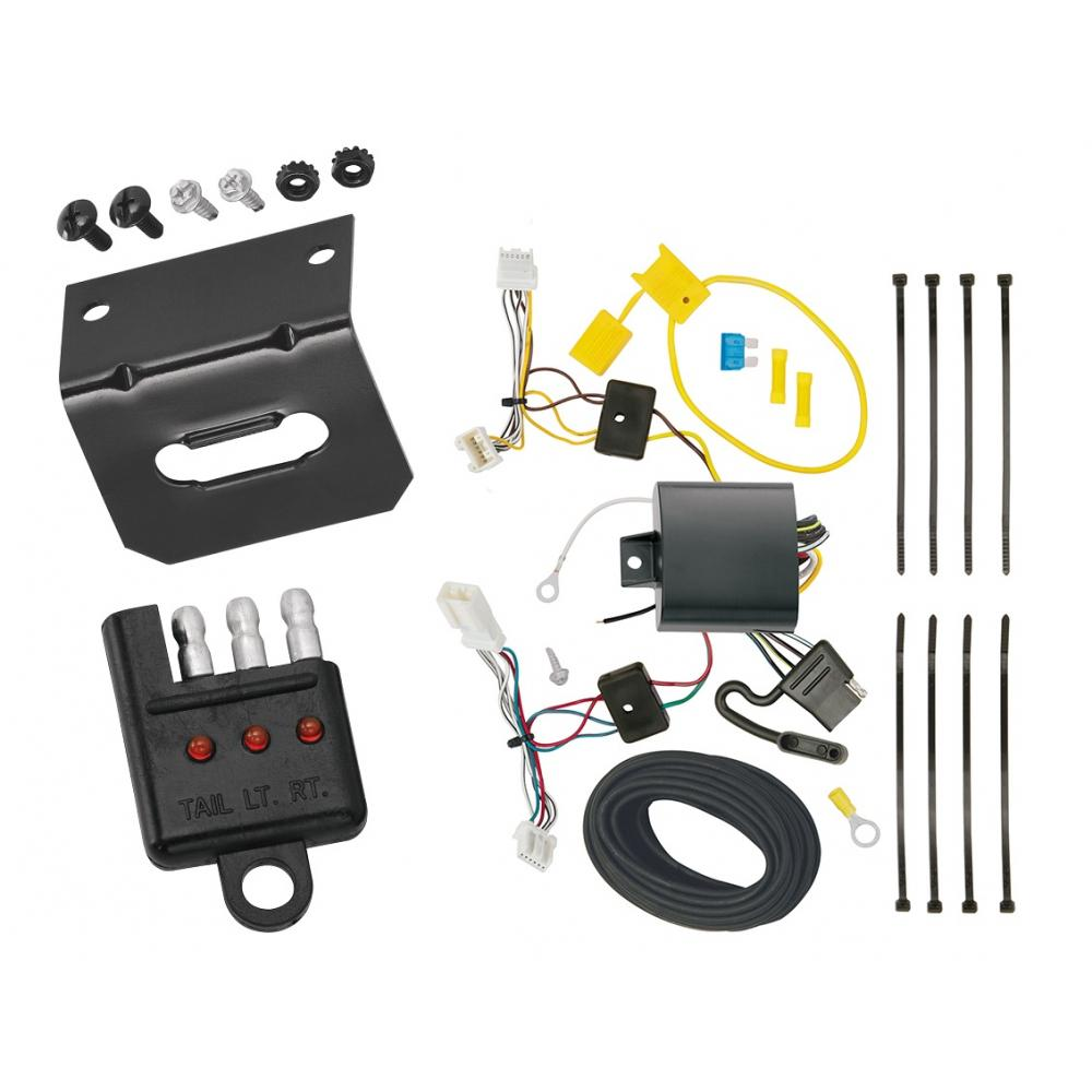 wiring harness honda civic coupe trailer wiring and bracket and light tester for 2016 honda civic  trailer wiring and bracket and light