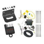 Trailer Wiring and Bracket and Light Tester For 2016 Honda Civic Coupe 4-Flat Harness Plug Play