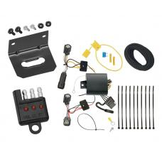 Trailer Wiring and Bracket and Light Tester For 17-19 Chevy Volt All Styles 4-Flat Harness Plug Play