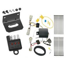 Trailer Wiring and Bracket and Light Tester For 2016 Cadillac CT6 All Styles 4-Flat Harness Plug Play