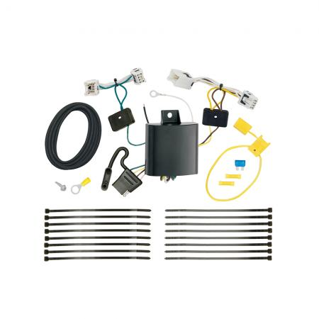 Trailer Wiring Harness Kit For 2017 Infiniti QX30 All Styles