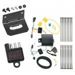 Trailer Wiring and Bracket and Light Tester For 16-19 Chevy Malibu Premier (New Body Style) 4-Flat Harness Plug Play