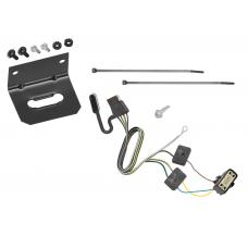 Trailer Wiring and Bracket For 18-19 Buick Enclave 18-20 Chevy Traverse 4-Flat Harness Plug Play