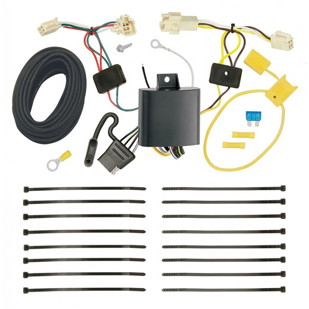 trailer wiring harness kit for 18 19 toyota camry all styles Chevy Cobalt Wiring Harness