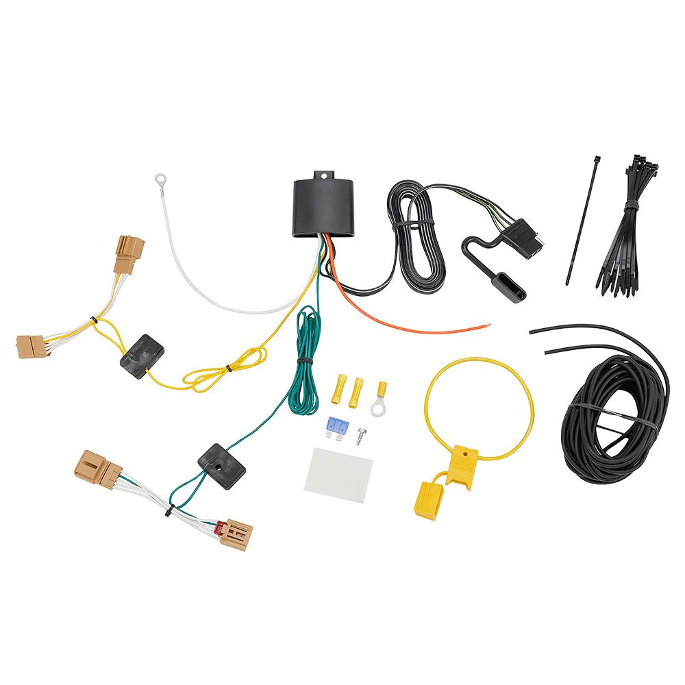 Trailer Wiring Harness Kit For 18-19 VW Volkswagen Tiguan on vw bug wiring, universal fog light kits, vw thing lift kit, vw dune buggy wiring harness, vw wiring connectors, vw thing wiring harness, vw cc fog light harness, vw beetle wiring harness, vw wiring diagrams, vw wire harness, vw bus wiring harness, radio control sailboat kits,