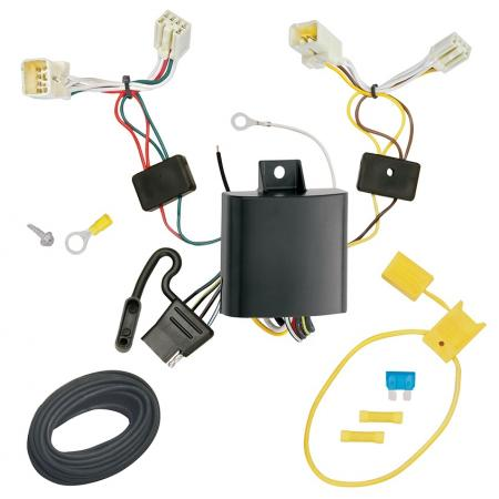Trailer Wiring Harness Kit For 14-19 Mitsubishi Mirage Except G4