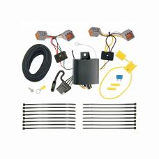 Trailer Wiring Harness Kit For 14-19 Volvo S60 Sedan