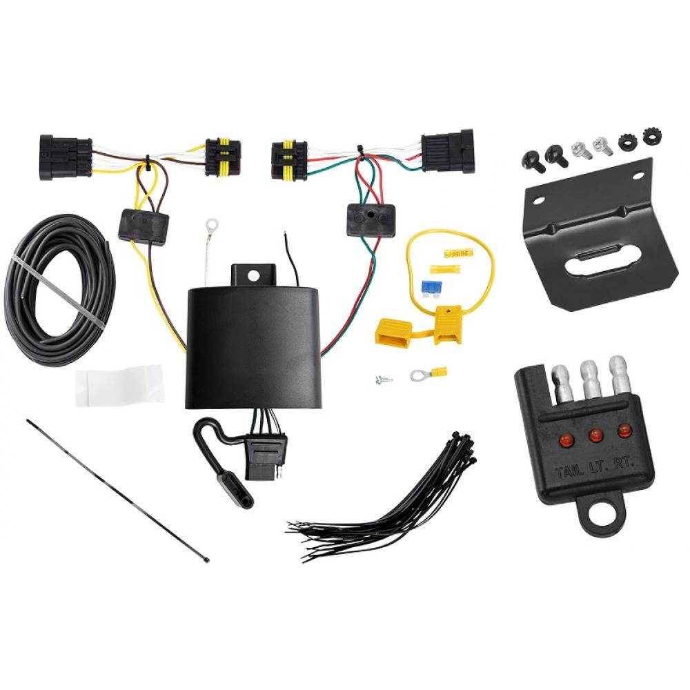 trailer wiring and bracket and light tester for 14 17 fiat. Black Bedroom Furniture Sets. Home Design Ideas