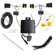 Trailer Wiring Harness Kit For 14-17 FIAT 500L All Styles