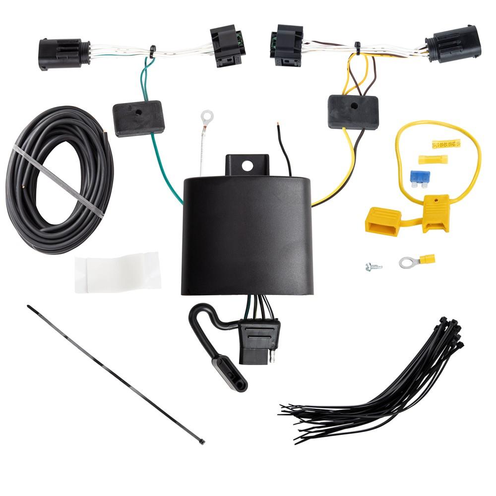 Trailer Wiring Harness Kit For 18 Alfa Romeo Stelvio