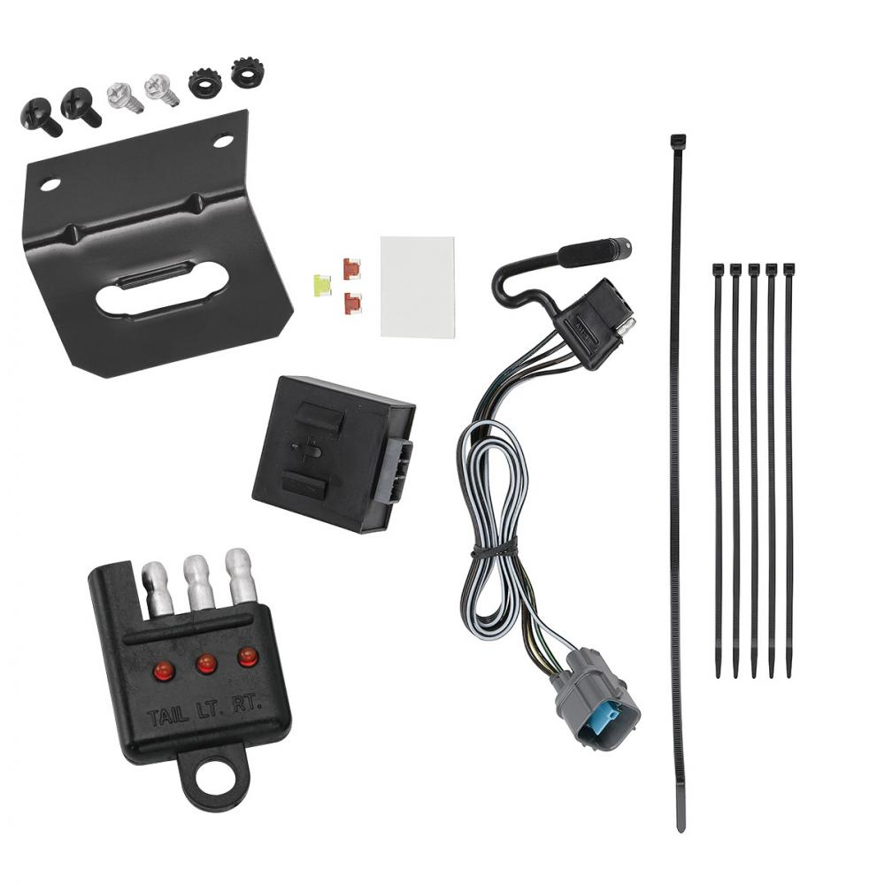 Trailer Wiring and cket and Light Tester For 17-18 Honda Ridgeline on honda ridgeline trailer fuse, honda ridgeline trailer connector, honda ridgeline wiring schematics, honda trailer hitch, honda ridgeline cold air intake, honda ridgeline brakes, honda ridgeline custom, honda ridgeline trunk, honda ridgeline hitch and harness, honda ridgeline towing, honda ridgeline parts and accessories, honda ridgeline tires, honda element trailer wiring harness, honda wiring harness connectors, honda trailer harness kit, honda pilot winch, honda ridgeline slide in camper, honda ridgeline topper prices, honda ridgeline hitch installation, honda ridgeline wheels,