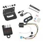 Trailer Wiring and Bracket and Light Tester For 2018 Honda Odyssey With Fuse Provisions 4-Flat Harness Plug Play