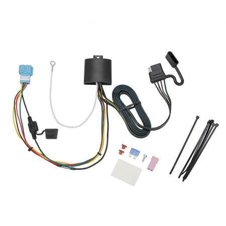 Trailer Wiring Harness Kit For 2018 Honda Odyssey With Fuse Provisions