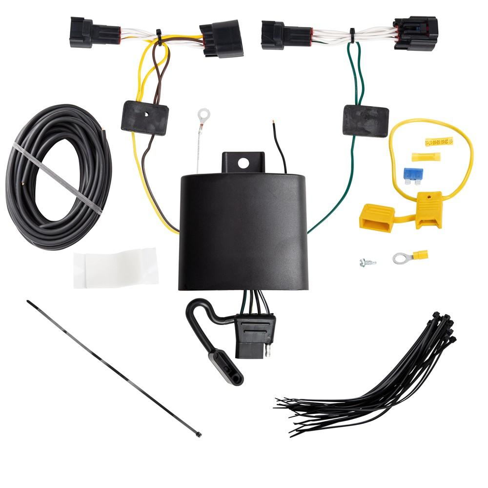 Trailer Light Wiring Harness Kit For 18-19 Jaguar E-Pace ... on