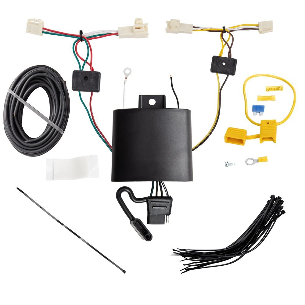 Trailer Wiring Harness Kit For 19-20 Toyota RAV4 All Styles ...Trailer Jacks