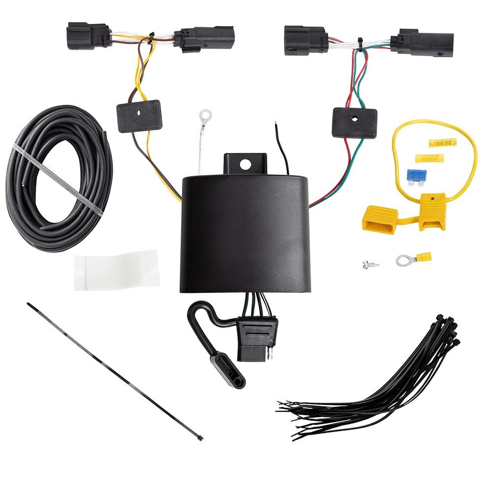 [SCHEMATICS_4LK]  Trailer Wiring Harness Kit For 19-20 Ford Edge Titanium Models Only | Ford Trailer Wiring Harness Kit |  | TrailerJacks.com